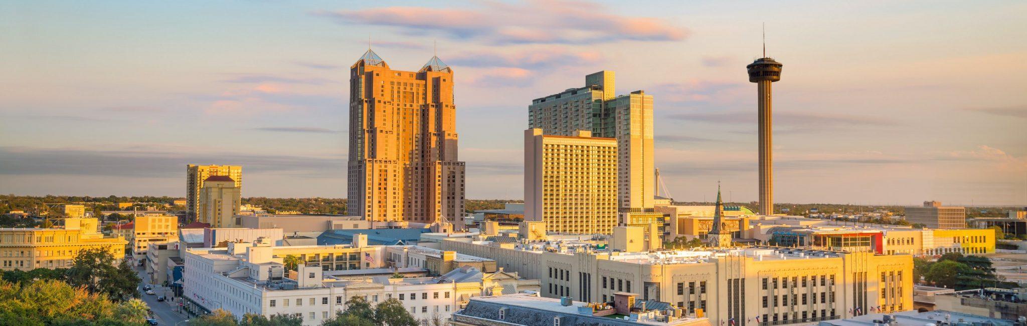 Downtown San Antonio buildings